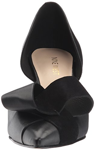 Leather Women's MCFALLY Pumps West Nine Black 5yEqXvOT1