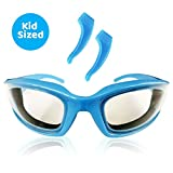 TruChef Kids Chef Goggles – Premium, Snug Fitting, Foam Lined Cooking Glasses for Kids Offer 100% Protection from Grease Splatter, Steam and BBQ Smoke Making Them the Best Kids Onion Goggles Eye Wear
