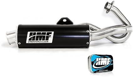 HMF Yamaha Raptor 125 2011-2013 Black//Blk Euro Full Exhaust Muffler