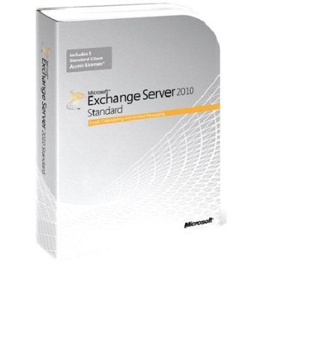 Exchange Standard CAL 2010 English MLP 5 Device CAL [Old Version] by Microsoft