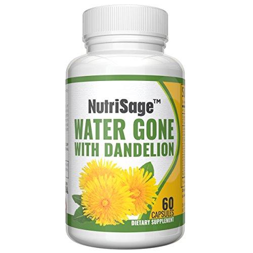 photo Wallpaper of NutriSage-Premium Diuretic Water Pill With Dandelion   Fights Water-