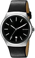 Skagen Sundby Leather Watch