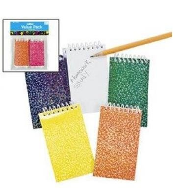 Fun Express Spiral Notepads Header