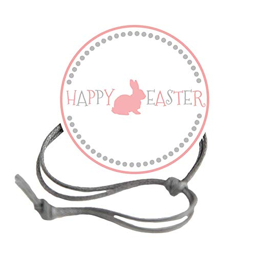 Napkin Knots Easter Napkin Ring - Bunny Dot Border (Pack of 10) (Banquet)