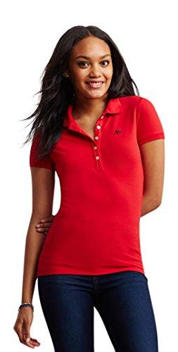 Aeropostale Womens Logo Piqu Shirt