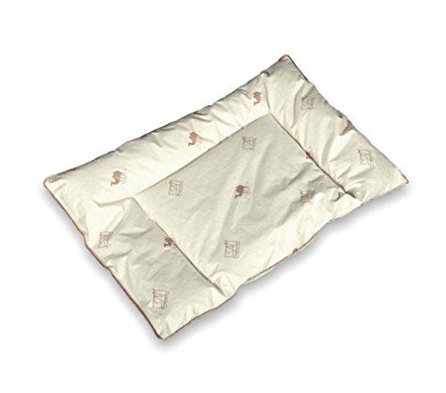 CAMEL 100% Organic Toddler/Baby Bed Pillow with Natural Camel Wool Filler