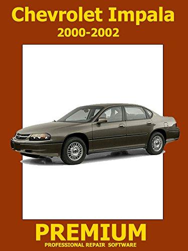 Chevrolet Monte Carlo Repair Software (DVD) 2000 2001 2002