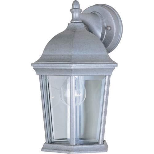 Maxim Lighting Builder Cast Pewter 1-Light Outdoor Wall-Mounted Lantern 1024PE