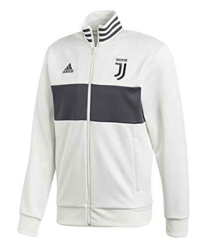 adidas Juventus Full Zip Track Jacket Black & White 2017-2018 – DiZiSports Store