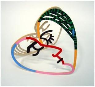 World Of Judaica David Gerstein Face to Face Heart Sculpture