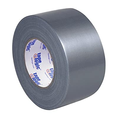 "Tape Logic T988100S3PK, 10.0 Mil Duct Tape, 3"" x 60 yd, Silver (Pack of 3) from Tape Logic"