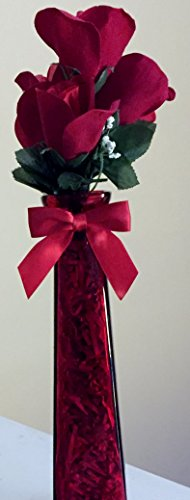 Artificial Red Silk Roses