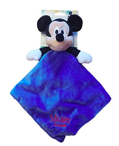Disney Baby Unisex Mickey Mouse Security Blanket, Blue