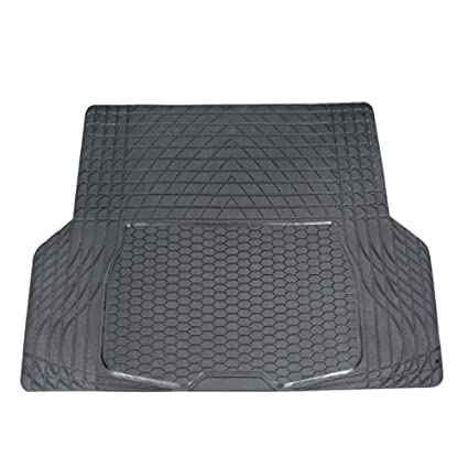 Full Set Trimmable Heavy Duty FH Group F11305BLACK Black All Weather Floor Mat 4 Piece
