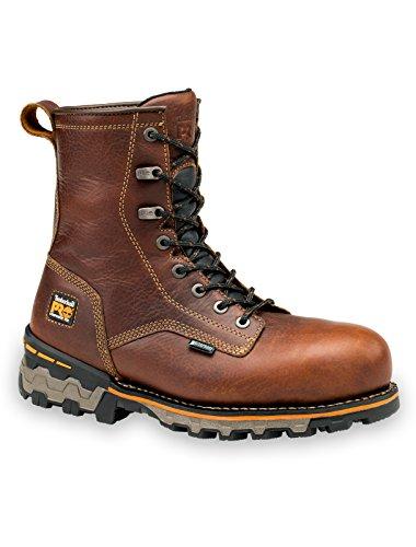 Timberland Pro 8in Boondock Wp Ct Heren Bruin Lederen Werkschoenen 14m