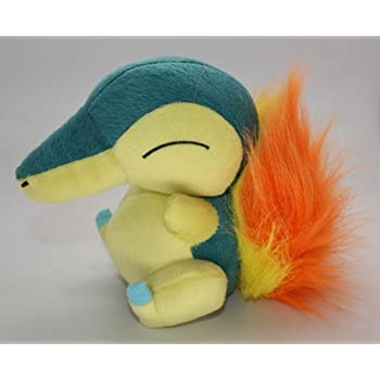 Pokemon Center Cyndaquil Fire Pokedoll Stuffed Animal Plush Doll Toy Great Gift