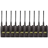 10 Pack of Motorola RDU4160d Two Way Radio Walkie Talkies