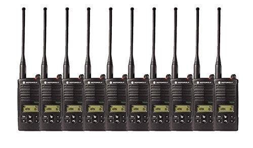 10 Pack of Motorola RDU4160d Two Way Radio Walkie Talkies by Motorola