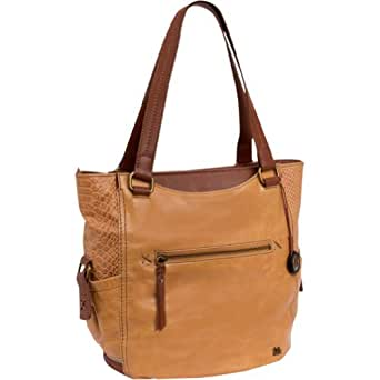 The SAK Kendra Tote Handbag,Maple Multi,One Size