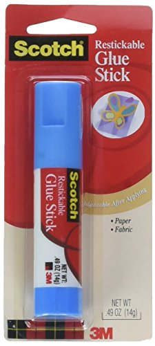 Scotch Removable Restickable Glue Stick Repositionable Stick