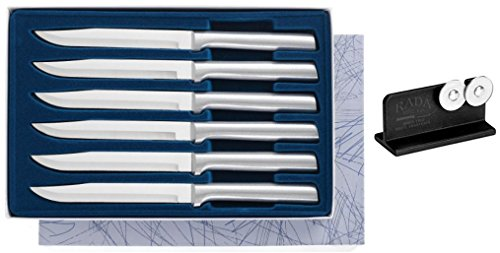 Rada S06 Knife Set Plus R119 Knife Sharpener