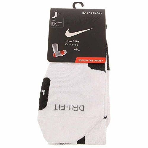 Nike Elite Crew Sock Black/White M