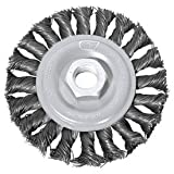 Century Drill 76063 Angle Grinder Wire Wheel 6'' Dia. Steel Cable Twist