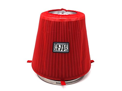 FILTERWEARS Pre-Filter K303R For K&N Air Filter RF-1042 Filter Wrap (Red Air Filter Wrap)