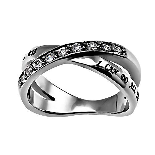 Christian Womens Stainless Steel Abstinence Philippians 3:14