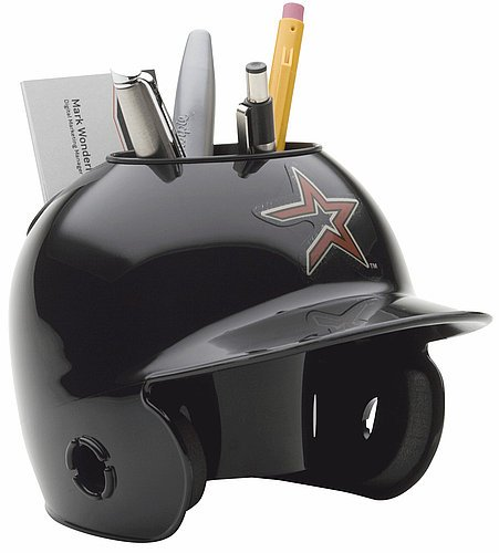 Schutt MLB Houston Astros Throwback Authentic Mini Batting Helmet Desk Caddy