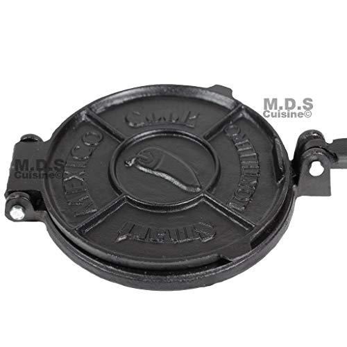 8 inch cast iron tortilla press - 8