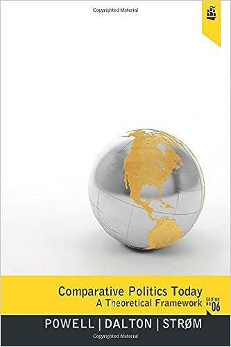 Comparative Politics Today: A Theoretical Framework