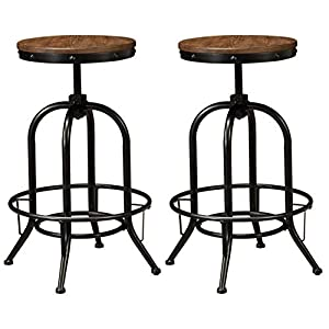 Ashley Furniture Signature Design – Pinnadel Swivel Barstool – Counter Height
