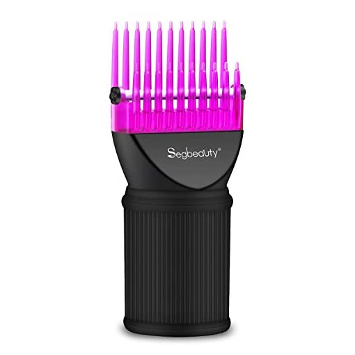 blow dryer comb attachment, segbeauty hair dryer blower concentrator nozzle brush attachments, hairdressing styling salon tool pic for fine, wavy, curly, natural hair - 41TwTPSK71L - Blow Dryer Comb Attachment, Segbeauty Hair Dryer Blower Concentrator Nozzle Brush Attachments, Hairdressing Styling Salon Tool Pic for Fine, Wavy, Curly, Natural Hair