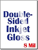 Cardstock, Double Sided Inkjet Gloss - 50 Sheets