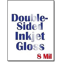 Cardstock, Double Sided Inkjet Gloss - 50 Sheets