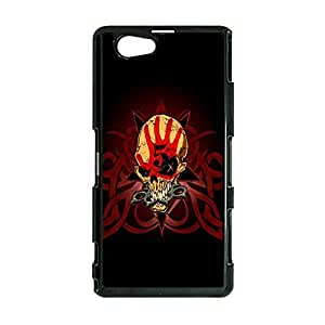 Album Cover Skull Head Popular Five Finger Death Punch 5FDP Phone Case Cover for Sony Xperia Z1 Compact / Z1 mini