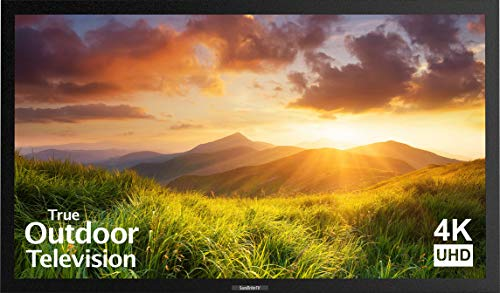 Our #2 Pick is the SunBriteTV Signature SB-S-55-4K-BLOutdoor LED TV