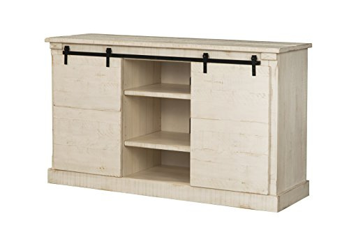 Martin Svensson Home 90937 Laurel Bay 60' TV Stand, Antique White