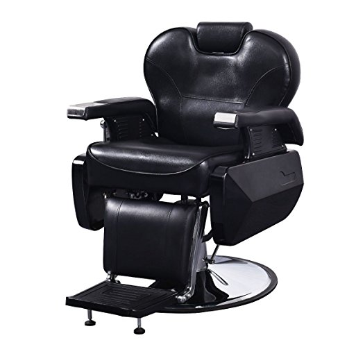 Pupzo Barber Chair All Purpose Hydraulic Recline Salon Beauty Spa Shampoo Hair Styling (kind3)