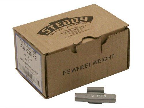 Box of 25 Coated IAW Wheel Weights 30 gram