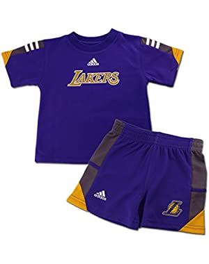 Lakers Infant/Toddler Classic Shirt and Short Set