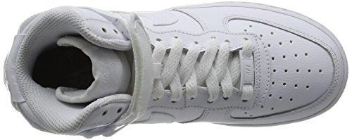 Boy Nike Air Force 1 High Blanco Tamaño 5 M con nosotros Blanco