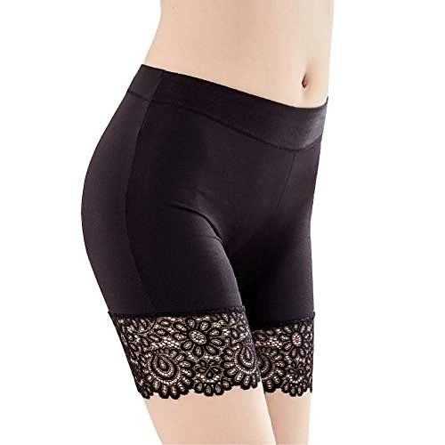 HNYG Women's Safety Shorts 3 Packs Underwear Pants Lace Leggings Freesize A650 by HNYG