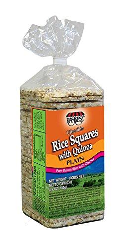 (Paskesz Ultra Thin Rice Cakes with Quinoa (Ultra Thin Rice Cakes with Quinoa (pack of 12)))
