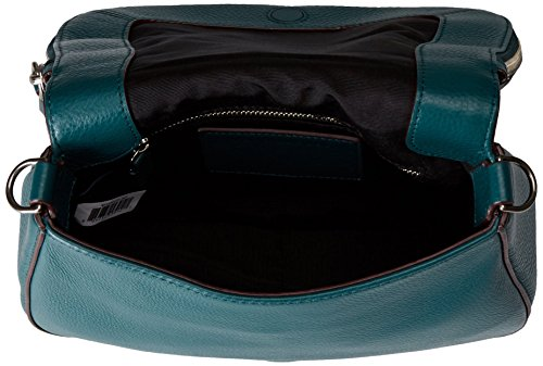 Marc Recruit Small Shoulder Chipped Saddle Studs Jacobs Bag Teal r4aCwqxr