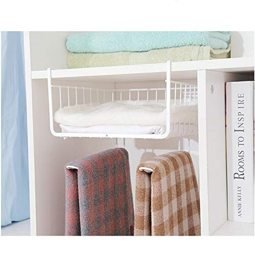 HeroStore Home Storage Tools Hook Type Kitchen Roll Paper Towel Holder Storage Rack Sundries Organizer Cabinet Cupboard Tissue Shelf by HeroStore (Image #3)