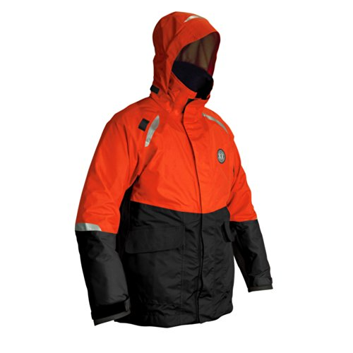 Mustang Catalyst Coat - X-Large - Orange/Black