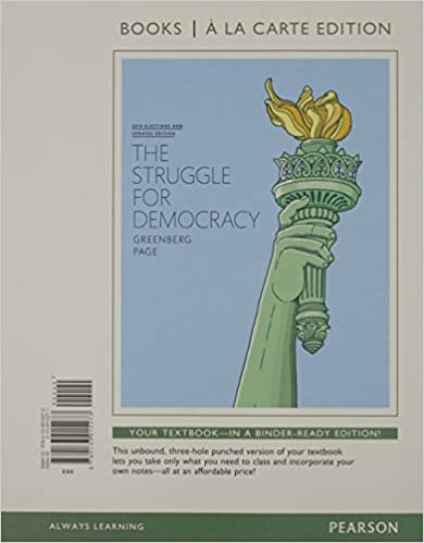 Amazon struggle for democracy the 2014 elections and struggle for democracy the 2014 elections and updates edition books a la carte edition 11th edition 11th edition fandeluxe