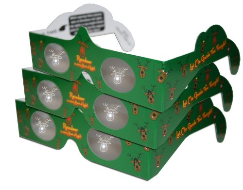TM 2 of each 20 3D Heaven Holiday Viewers 3D Christmas Glasses Kit Turn Christmas Tree /& Holiday Lights into Magical Images 3D Christmas Glasses 10 STYLES - INCLUDES A Lenticular 3D Holiday Card!
